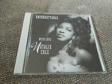 Natalie Cole Unforgettable With Love RARE Japanese CD Album