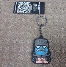 "Metal Mulisha Keychain "" Wrench Head Boys "" -- Black/blue + Free Shipping"