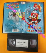 VHS film IL GATTO CON GLI STIVALI 1992 animazione A&S 0517 (F126) no dvd