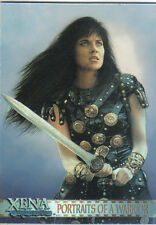 XENA ART AND IMAGES PORTRAITS OF A WARRIOR CARD PP12