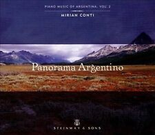 Panorama Argentino (CD, Jan-2014, Steinway & Sons) NEW! In shrink-wrap