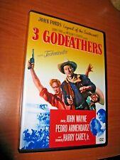 3 Godfathers 1948 DVD B&W John Wayne/John Ford's Legend Of The Southwest Warner