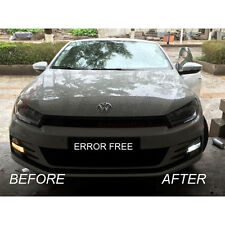 VW SCIROCCO XENON COOL WHITE LED SIDELIGHT BULBS CANBUS ERROR FREE 8SMD R