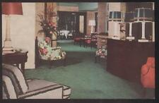 POSTCARD NEW YORK CITY NY WESTBURY HOTEL LOBBY 1940'S