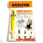 NEW Deleter Manga Comic Supplies Trial Pen Set (Pen Holder G-Pen Nib) F/S Japan