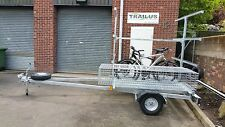 Canoe Trailer 8 canadian or 16 kayaks galvanised Coleman spare box bike rack