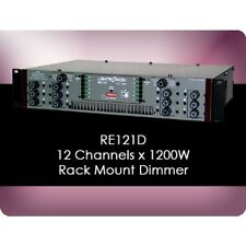 LIGHTRONICS RE121D 12 CHANNEL @ 10Amp / 1200w RACKMOUNT DIMMER $50 INSTANT OFF
