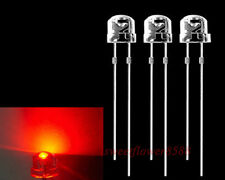 1000 pcs Red 5mm straw hat LED  Wide Angle Light Lamp New