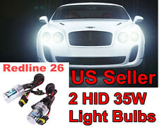 2 HID Bulbs for Volvo h1 h3 h4 h7 h8 h9 h10 h11 h13 9004 9005 9006 9007 880