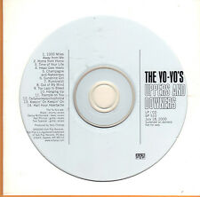 The Yo-Yo's Uppers and Downers PROMO CD Sub Pop Rare!