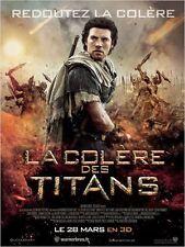 Affiche 40x60cm LA COLÈRE DES TITANS 2012 Sam Worthington, Liam Neeson TBE