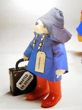 RARE famoso Paddington Bear VALIGIA ORIGINALE FILM Fair Perù a Londra Gabrielle