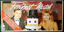 Vintage 1985 IQ Company PERFECT MATCH Grundy Television & Channel 10 BOARD GAME