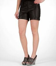 Daytrip Flat Front Short Size 9 Black Sheen  From the Buckle BKE NEW NWT