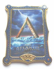 Disney Pin Badge 12 Months of Magic Movie Poster Series (Atlantis)