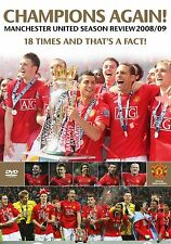 NEW! Manchester United End Of Season Review 2008/2009 (DVD) Man Utd FC 08/09