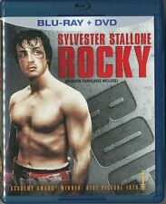 Rocky (Blu-ray/DVD, 1976, 2-Disc Set, Canadian)