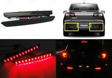 Mazda3 Axela 04-09 Black Smoked Lens Bumper Reflector LED Tail Brake Stop Light