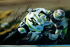 Kenan SOFUOGLU SIGNED Turkish Motorbike Rider Autograph 12x8 Photo AFTAL COA