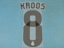 Spanish La Liga 2014-2015 Real Madrid #8 Kroos Homekit NameSet Printing