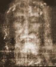 YES ! THE REAL FACE OF JESUS, PRINT FROM 'THE SHROUD OF TURIN.' ( FREE SHIPPING)
