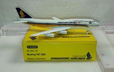 New Vintage Schabak SINGAPORE AIRLINES  Boeing 747-300 Diecast 1:600 scale