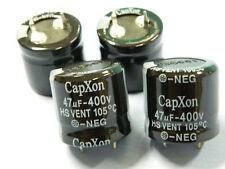 47uF 400V condensatore elettrolitico CAPXON HS Vent 105° (n.4 pezzi)