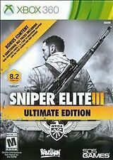 Sniper Elite 3 III -- Ultimate Edition *Brand New* (Microsoft Xbox 360, 2015)
