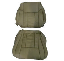 1996-1997-1998 Toyota 4runner tan leather seat covers 1 back rest and 1 bottom