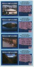 1993   FIRST  GEORGIA  INSTANT  MILLIONAIRE  LOTTERY  TICKETS  4  SCENES