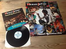 MICHAEL JACKSON FAREWELL MY SUMMER LOVE LIMITED EDITION LP +COLOUR POSTER*N/MINT