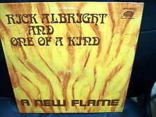 Rick Albright and One of a Kind A New Flame signed 1978 LP country St Louis Mo