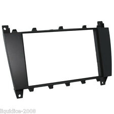 CT24MB12 MERCEDES C CLASS W203 2004 to 2007 BLACK DOUBLE DIN FASCIA ADAPTER