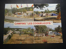 CPM 1988 ROYAN CAMPING LES COQUELICOTS