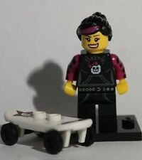 Genuine Lego 8827 Series 6 Minifigure no. 12 Skater Girl
