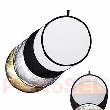 "PhotoSEL RFC52 58cm 23"" 5-in-1 Photography Collapsible Lighting Light Reflector"