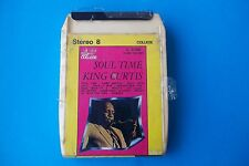 "KING CURTIS "" SOUL TIME "" MUSICASSETTA STEREO 8 RIFI RECORDS SERIE COLLAGE 1975"