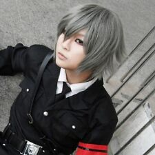 Togainu No Chi New Short Gray Halloween Carnival Cosplay Party Wig   g93