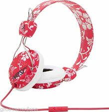 CUFFIA WESC CONGA JESTER RED per Dj iPod iPhone iPad Mp3 Player Usb Pc Mac