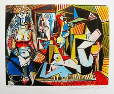 Pablo Picasso WOMEN OF ALGIERS Estate Signed & Numbered Small Giclee
