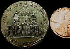 S576: 1795 Conder Token : St Paul's Spittle's Halfpenny : D&H Middx.902