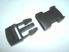 A 25mm POM DELRIN SIDE RELEASE PLASTIC WEBBING LUGGAGE BELT FASTENER BUCKLE CLIP