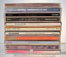 10 CD MUSIC LOT JANET JACKSON-BEYONCE-MARIAH CAREY-JILL SCOTT-REGINA BELLE