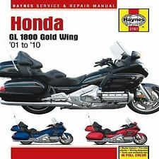 2001 2006 2007 2008 2009 2010 Honda GL1800 Goldwing Haynes Repair Manual 1901
