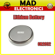 CR2032 Lithium Button Cell Battery 3V for Watch Thermometer Calculator and More