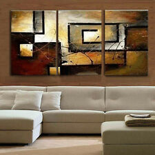 3Stk TOP LEINWAND KUNSTDRUCK BILDER DIGITAL UNFRAMED WANDBILD ABSTRAKT 60*40cm