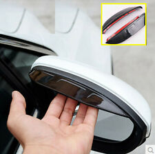 FIT FOR KIA SOUL10-13 SIDE DOOR MIRROR RAIN GUARD VISOR SHADE REAR VIEW SHIELD