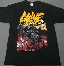 GRAVE, YOU'LL NEVER SEE..., XXL T-SHIRT