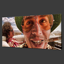 FEAR AND LOATHING IN LAS VEGAS PICTURE POSTER CANVAS PRINT 30 X 16 Inch WALL ART