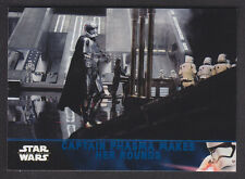 Topps Star Wars - The Force Awakens Series 2 - Blue Parallel Card # 12